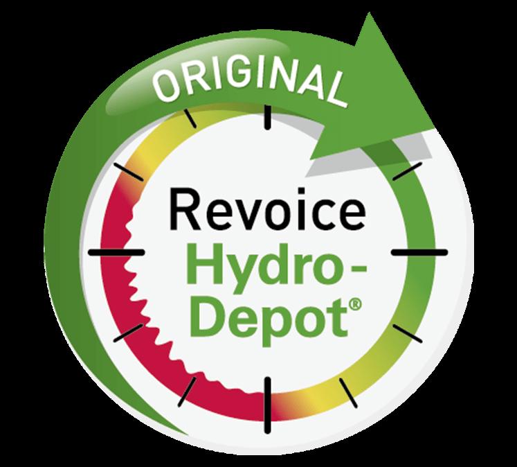 Revoice Hydro-Depot® Logo.